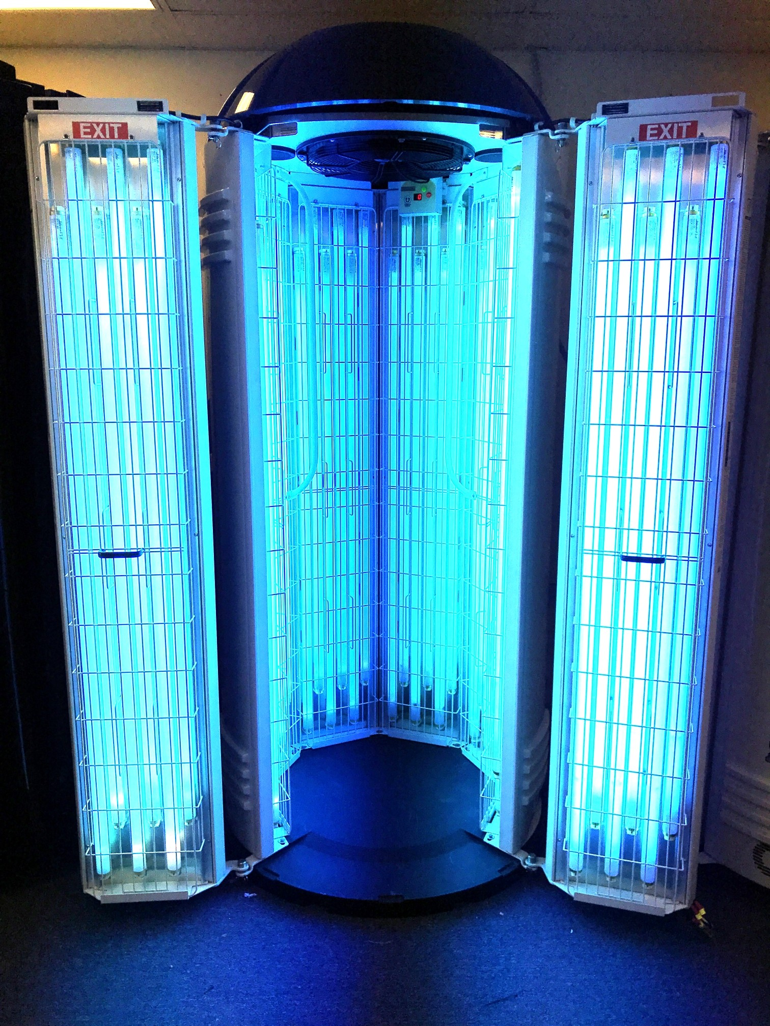 facial fans sunbed bulbs power beds level turbo orig in minute pressure tanning tan adjustable jamakin high tanners more bed me built