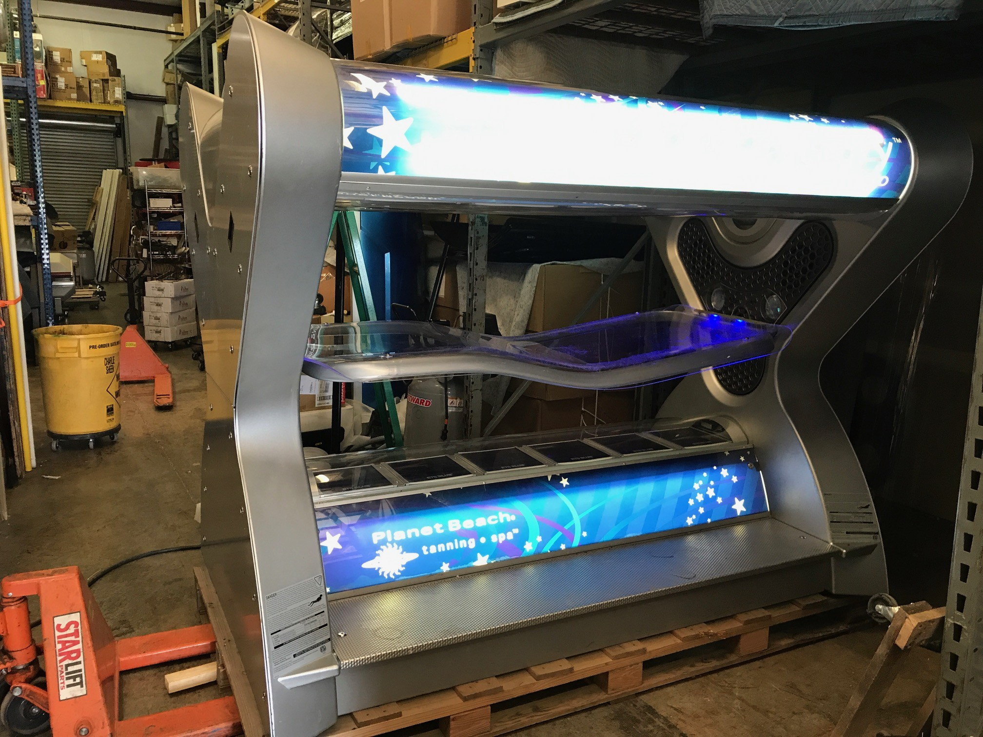 2007 Velocity HP1000 Ultra-Pressure Tanning Bed on
