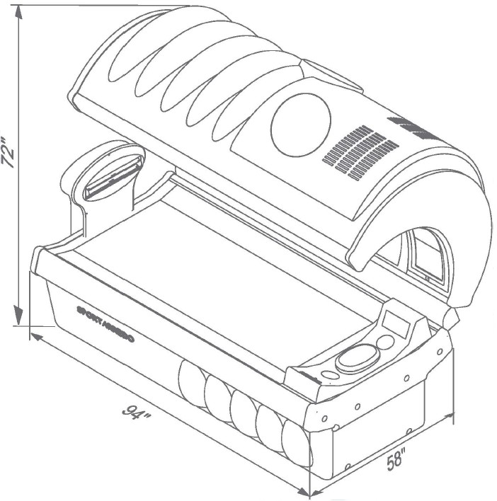 Tanning Bed Electrical Diagrams Tanning Beds By Wolff Tanning